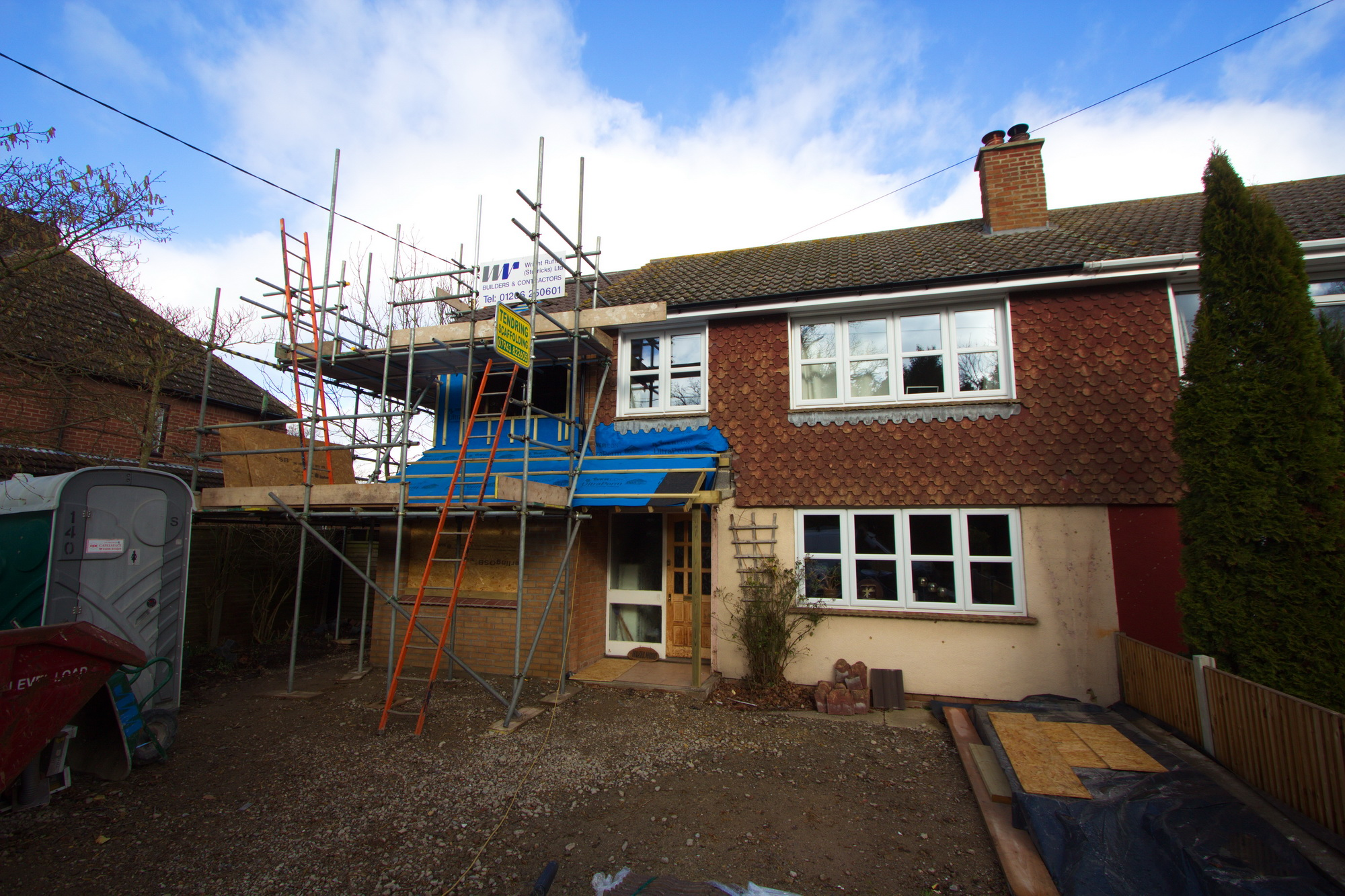 Side Two Storey Extensions in Colchester