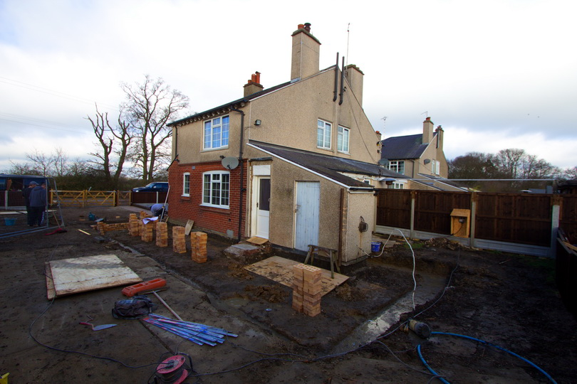 Extension Construction in Colchester