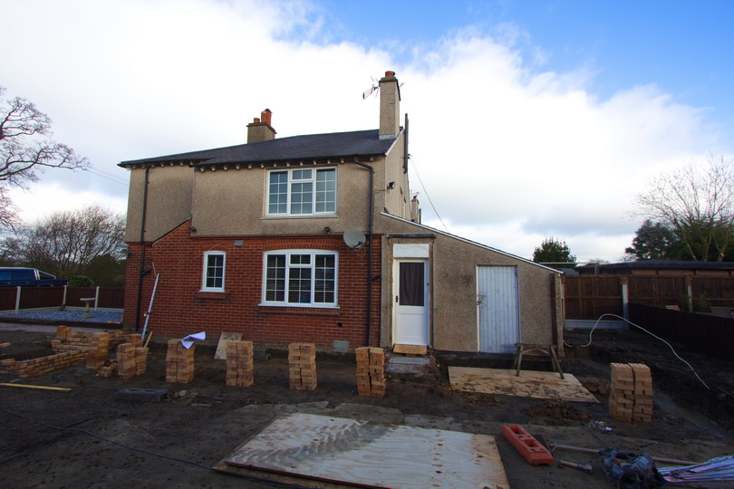 Rear Extension Builders in Colchester